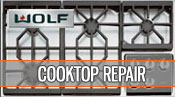Wolf cooktop repair - 1 800 520 7044