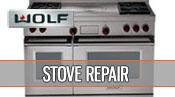 Wolf stove repair - 1 800 520 7044