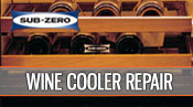 Sub-Zero wine cooler repair - 1 800 520 7044